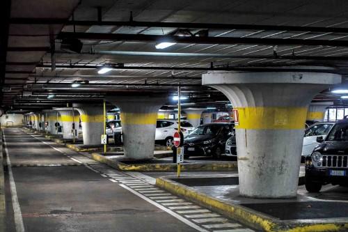 Luigi Moretti, underground parking lot under the Villa Borghese park