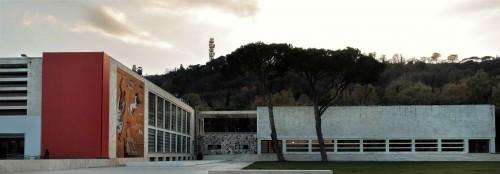 Accademia della Scherma, Luigi Moretti, Foro Italico