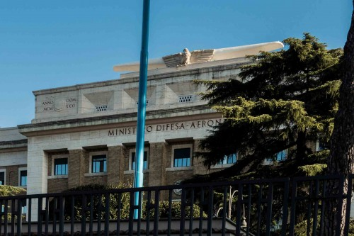 Building of the Ministry of Civil Aviation, viale dell'Università