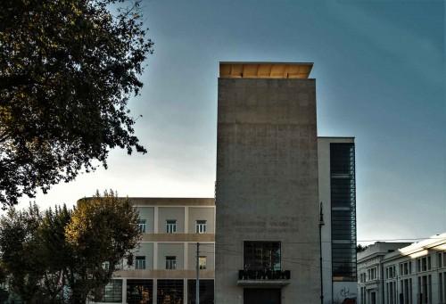 Casa del Balilla, Luigi Moretti, former building of the Fascist Youth, Trastevere