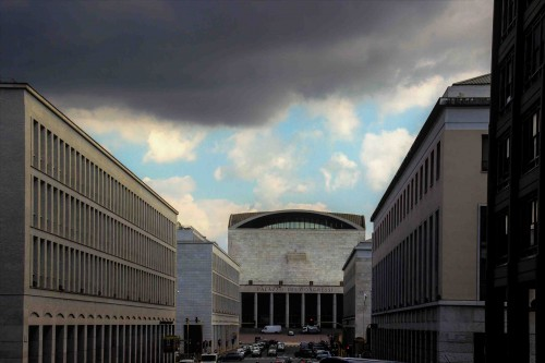 Palazzo dei Congressi in the EUR district