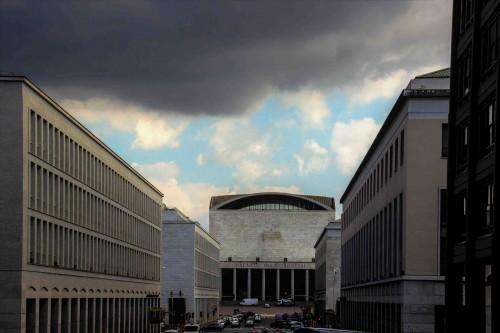 Palazzo dei Congressi in the EUR district