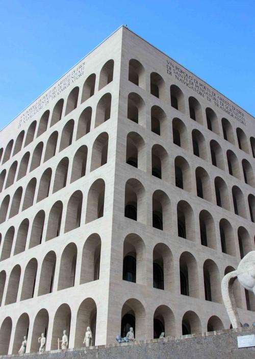 Palazzo della Civiltà Italiana w dzielnicy EUR