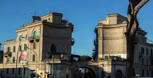 Piazza Sant'Eurosia, the Garbatella district