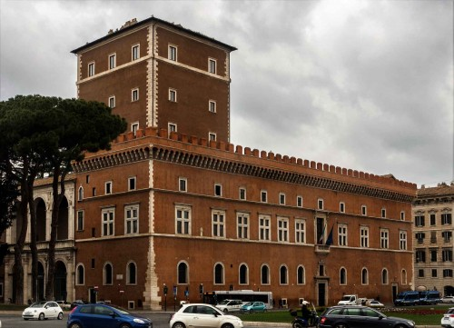 Palazzo Venezia, residence of the Benito Mussolini government