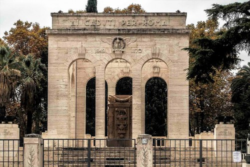 Monument of the victims of struggle for Rome in the years 1849-1870, Gianicolo