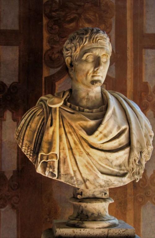 Popiersie cesarza Nerwy, Museo Nazionale Romano, Palazzo Altemps