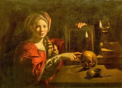 Trophime Bigot ?, Alegoria Vanitas, Galleria Nazionale d'Arte Antica, Palazzo Barberini