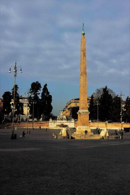 Obelisk Flaminio, Piazza del Popolo
