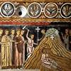 Oratorio San Silvestro przy kościele Santi Quattro Coronati, scena poszukiwania Krzyża Pańskiego w Jerozolimie