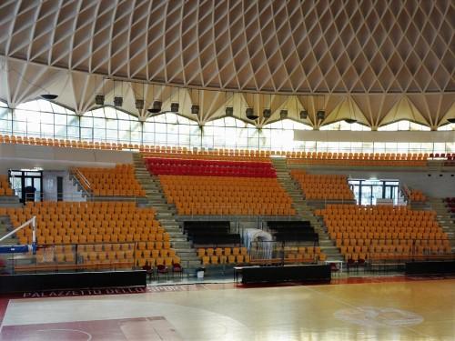 Palazzetto dello Sport, interior, pic. Wikipedia