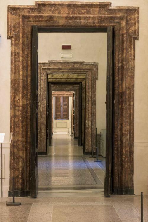 Palazzo Barberini, amfilada sal w prawym skrzydle pałacu