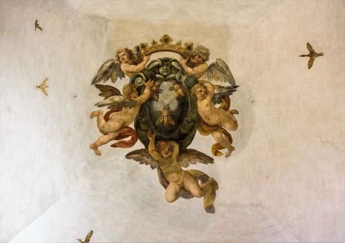 Palazzo Barberini, dekoracja sufitu jednej z sal na parterze pałacu
