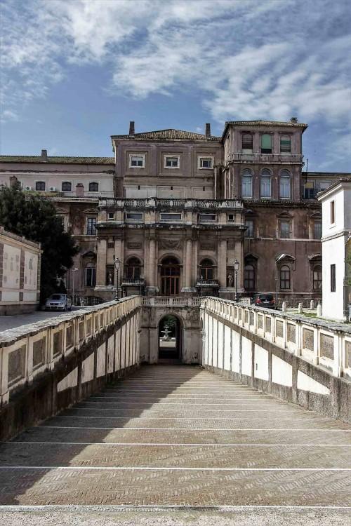 Palazzo Barberini, fasada ogrodowa