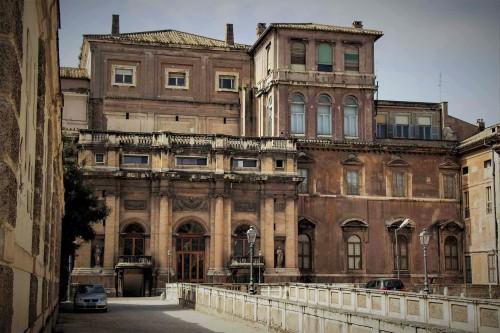 Palazzo Barberini, fasada pałacu od strony ogrodu