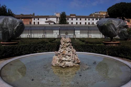 Palazzo Barberini, fontanna ogrodowa