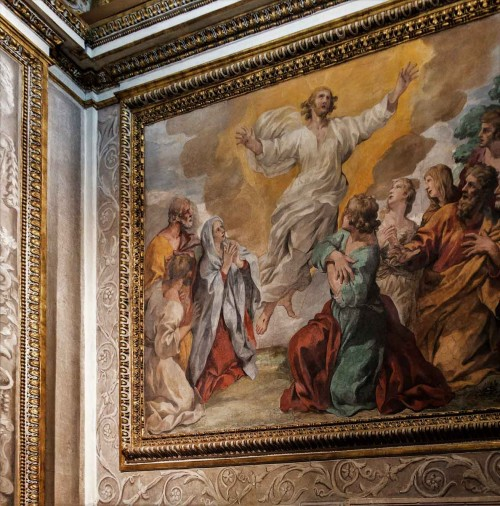 Palazzo Barberini, kaplica pałacowa, Gian Francesco Romanelli