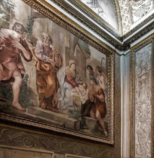 Palazzo Barberini, kaplica pałacowa, Gian Francesco Romanelli (krąg Pietro da Cortony)