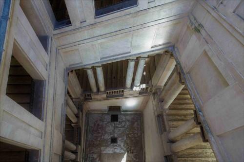Palazzo Barberini, klatka schodowa w lewym skrzydle pałacu przypisywana Gian Lorenzo Berniniemu