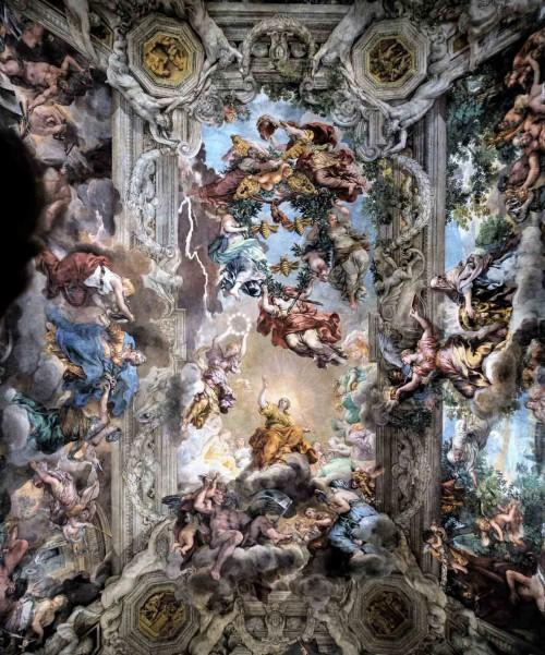 Palazzo Barberini, Sala Grande, Triumf Opatrzności Bożej, Pietro da Cortona