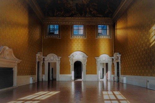 Palazzo Barberini, Sala Grande z malowidłem Pietro da Cortony na suficie