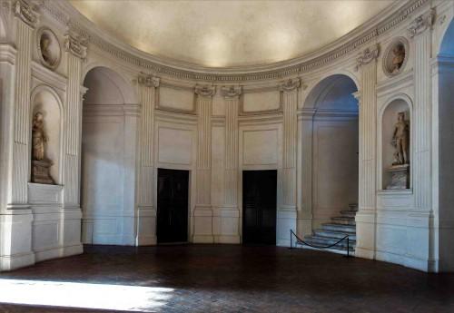 Palazzo Barberini, salon Owalny