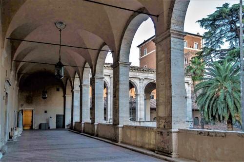 Palazzo Venezia, loggia pałacowa