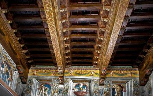 Palazzo Venezia, Sala dei Paramenti, fryz z czynami Herkulesa - prywatny apartament papieża Pawła II