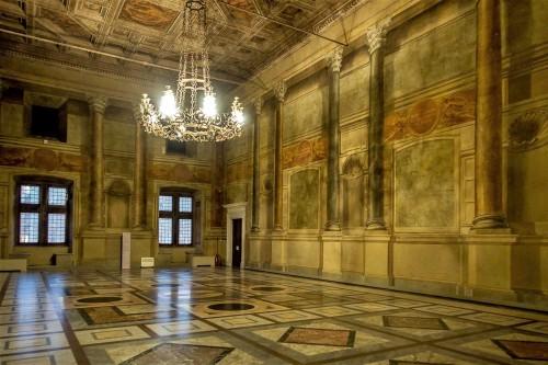 Palazzo Venezia, Sala del Concistoro, medaliony z nazwami zwycięskich bitew w trakcie I wojny światowej