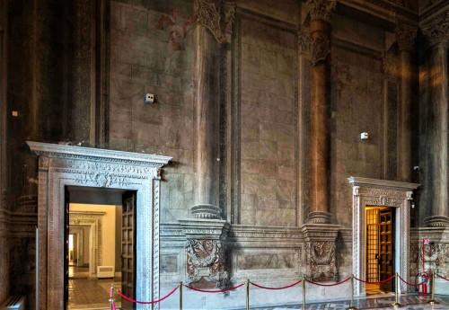 Palazzo Venezia, Sala del Mappamondo, reprezentacyjna sala audiencyjna w czasach Mussoliniego