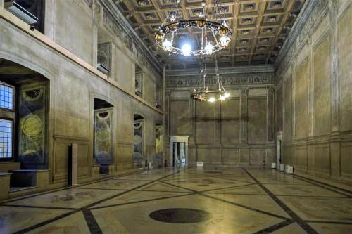Palazzo venezia, Sala Regia, ukończona pod koniec XV w. przez kardynała Lorenzo Cybo