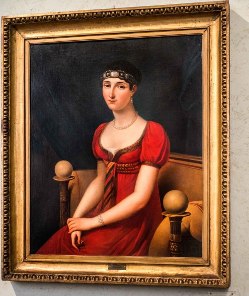 Pauline Borghese, Francoise-Joseph Kinson, 1808, Museo Napoleonico