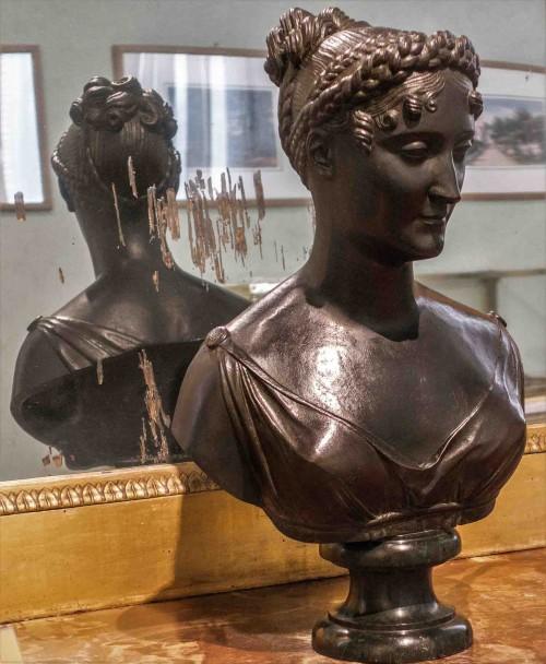 Bust of Pauline Borghese, Pietro Marchetti, Museo Napoleonico
