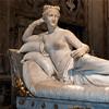 Pauline Borghese as the Venus Victrix, Antonio Canova, Galleria Borghese