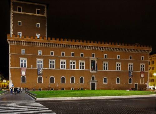 Palazzo Venezia od strony Piazza Venezia