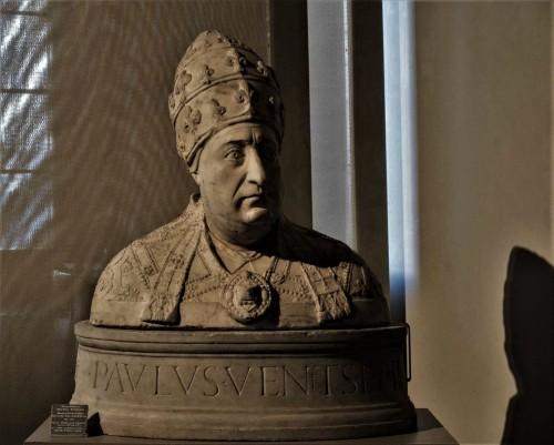 Bust of Pope Paul II, Museo Nazionale del Palazzo di Venezia