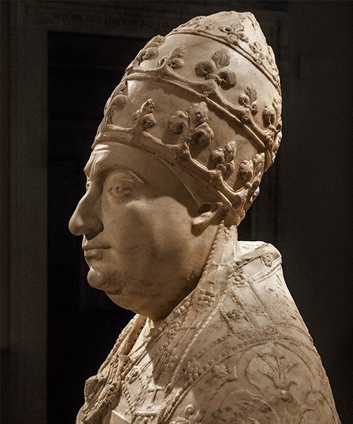 Popiersie papieża Pawła II, Museo Nazionale del Palazzo di Venezia