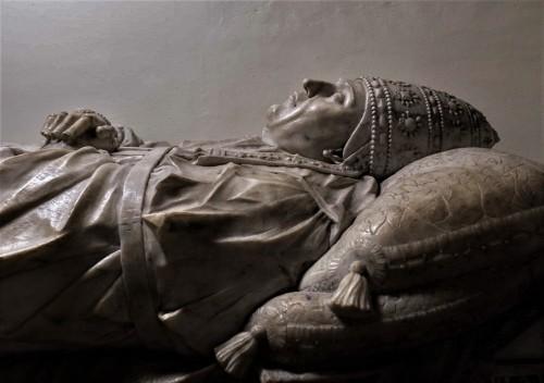 Sarcophagus of Pope Paul II, fragment, Vatican Grottoes, Mino da Fiesole