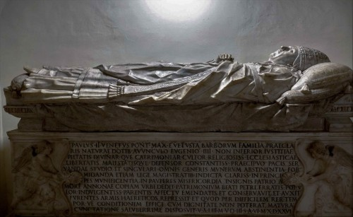 Sarkofag papieża Pawła II, Mino da Fiesole, Groty Watykańskie