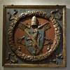 Herb papieża Pawła II, fragment stropu z dawnych pomieszczeń papieskich, Museo Nazionale del Palazzo di Venezia