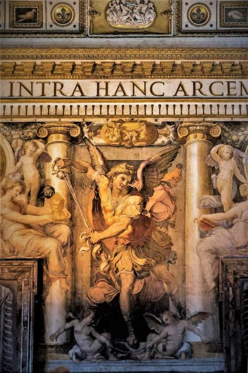 Dekoracje ścienne, Sala Paolina, zamek Sant'Angelo