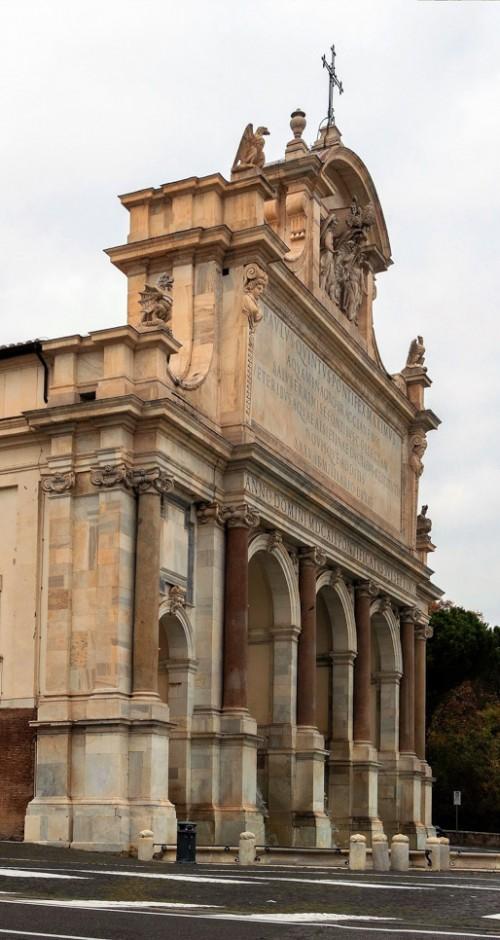 Fontana dell'Acqua Paola, via Garibaldi
