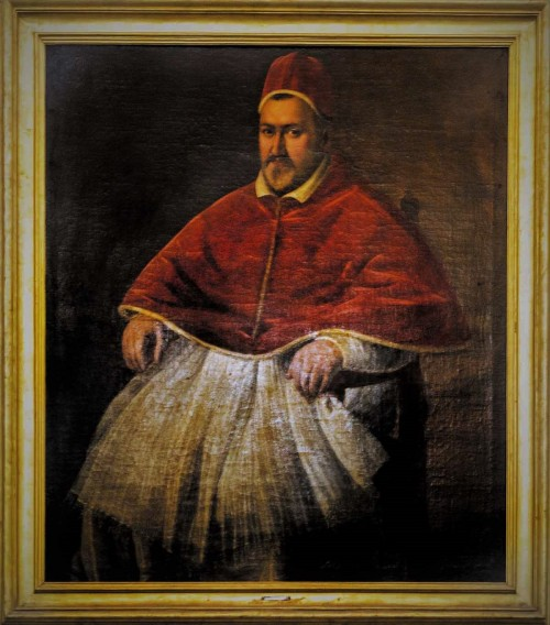 Portret papieża Pawła V, L. Leone Il Padovano, Galleria Borghese
