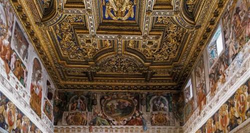 Sala Regia, Palazzo del Quirinale - foundation of Pope Paul V