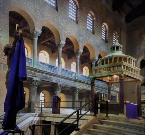 Kościół San Lorenzo fuori le mura, część z VI wieku (obecnie prezbiterium)
