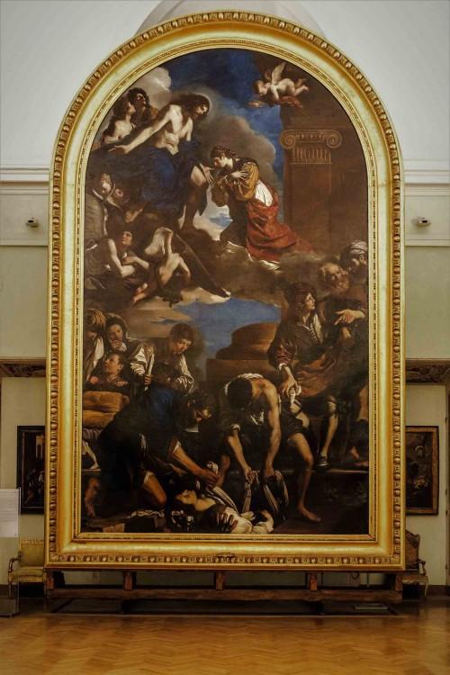 The Funeral of St. Petronella, Guercino, Musei Capitolini - Pinacoteca