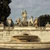 Piazza del Popolo, Neptune and tritons – western side of the square