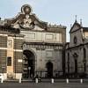 Piazza del Popolo, Porta del Popolo, kościół Santa Maria del Popolo