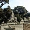 Piazza del Popolo, view of Pincio Hill