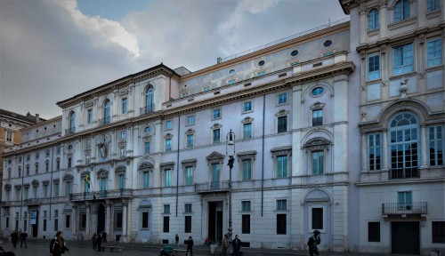 Palazzo Pamphilj przy Piazza Navona